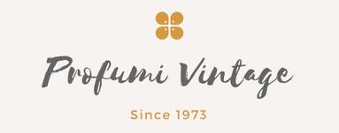 logo profumi vintage